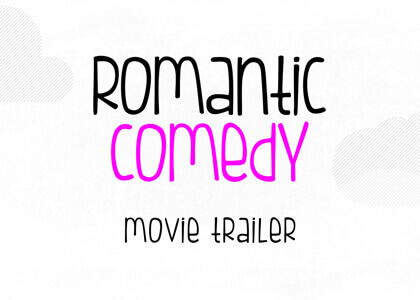Romcom Trailer After Effects Template