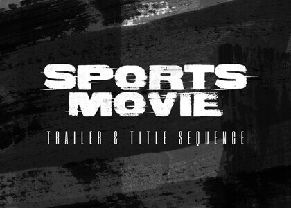 Sports_Trailer After Effects Template