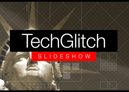 TechGlitch Slideshow After Effects Template