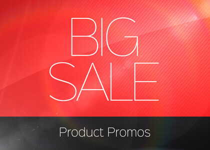 Big Sale Promo After Effects Template
