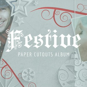 Festive_Cutout_Album After Effects Template