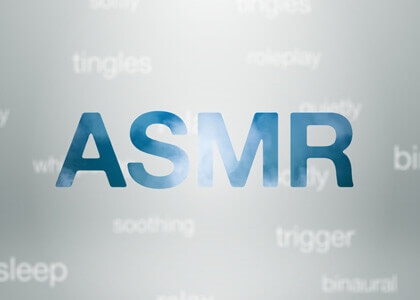 Free ASMR intro logo reveal template for After Effects
