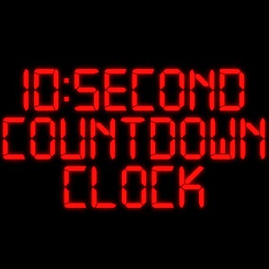 Red LED Countdown
