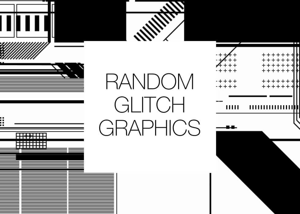 Tech Glitch Graphics