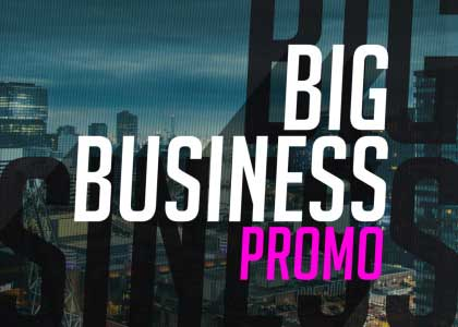 Big_business_promo After Effects template