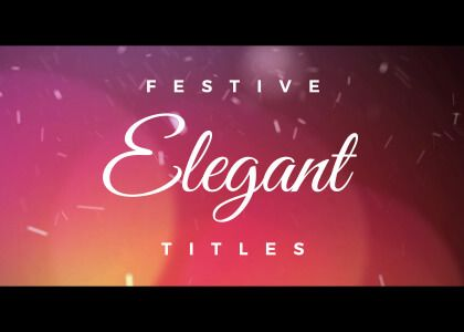 Elegant Titles Effects