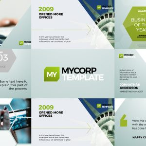 MyCorp Business Promo After Effects template