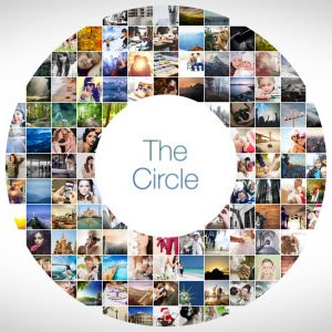The Circle Mosaic After Effects photo slideshow template
