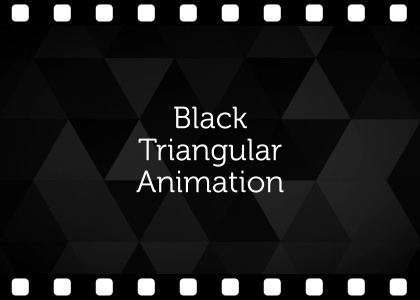 Free black abstract background video animation