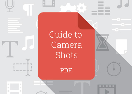 Guide to basic camera shots and angles
