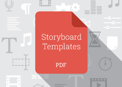 image regarding Printable Storyboard titled Absolutely free Storyboard Template Pack Enchanted Media