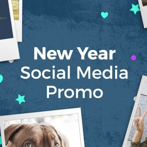 New Year Message Video – After Effects Template