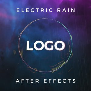 Electric Rain Logo Reveal – Free After Effects Template