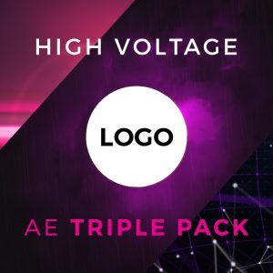 High Voltage free youtube intro logo reveal After Effects templates