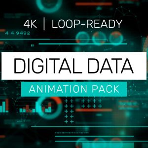 Digital Data Loops – 4K Animation Pack