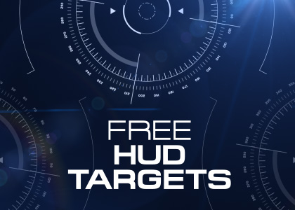 Free HUD graphics overlay video effect