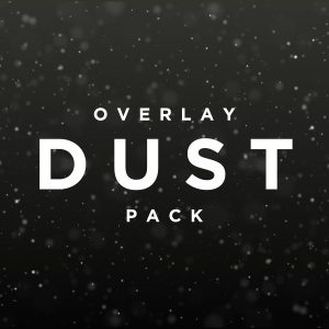 Dust particle overlay video effect pack