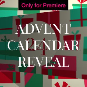 Advent Calendar Word Cloud Motion Graphics Template for Premiere Pro