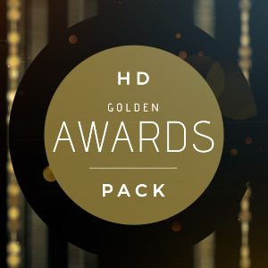 Golden Oscar Movie Award Ceremony After Effects Template