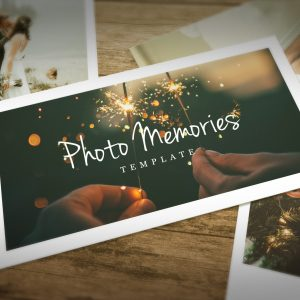Photo Memories Slideshow – After Effects Template