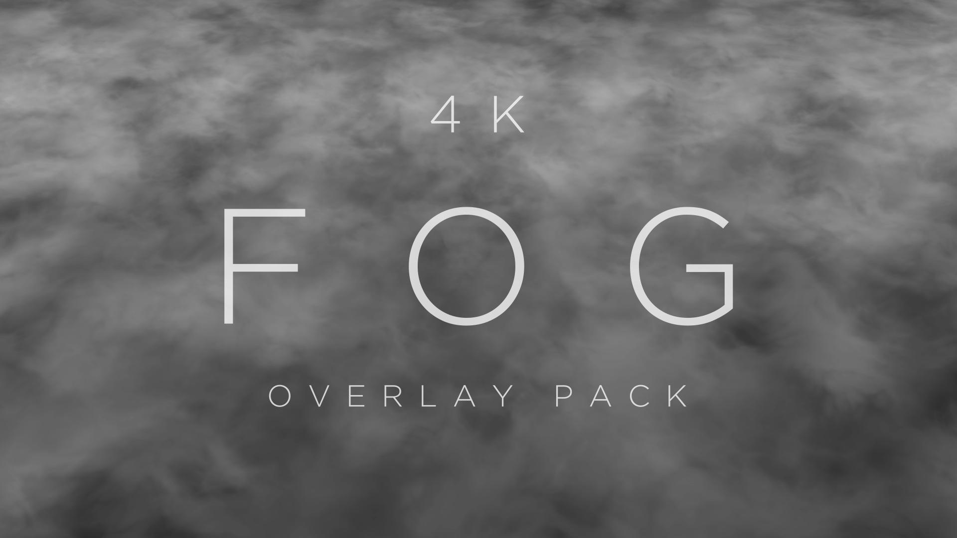 Fog Overlay Loops HD Title