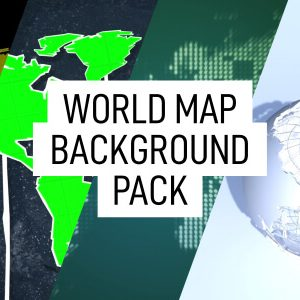 Free World Map Backgrounds Animation Pack Still Feature