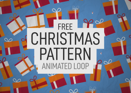 Free Christmas Background Animation