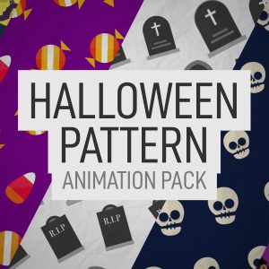 Halloween Pattern Animation Pack