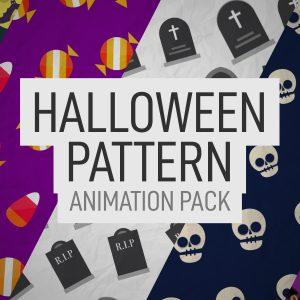 Halloween Pattern Animation Pack