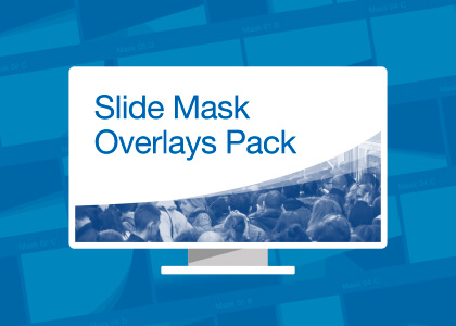Free PowerPoint Slide Mask Overlay Pack Feature