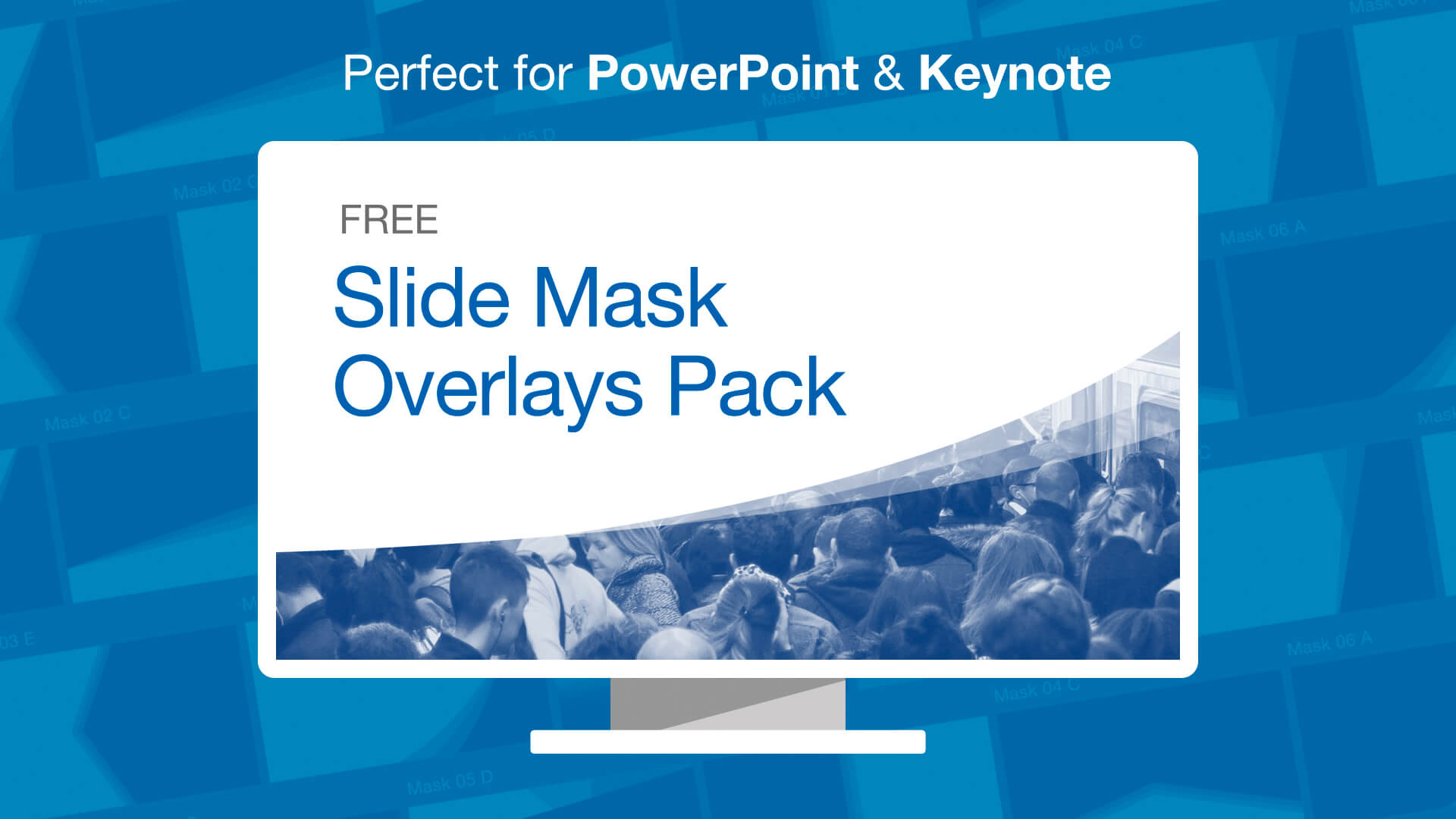 Free PowerPoint Slide Mask Overlay Pack