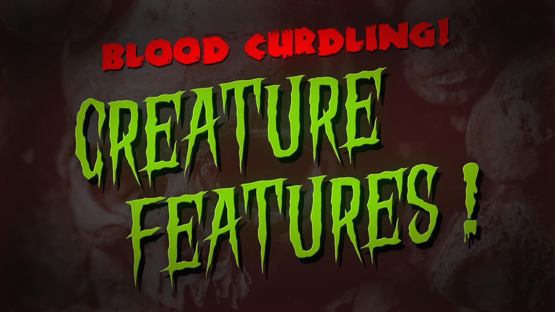 Vintage Classic Horror Movie Title Final