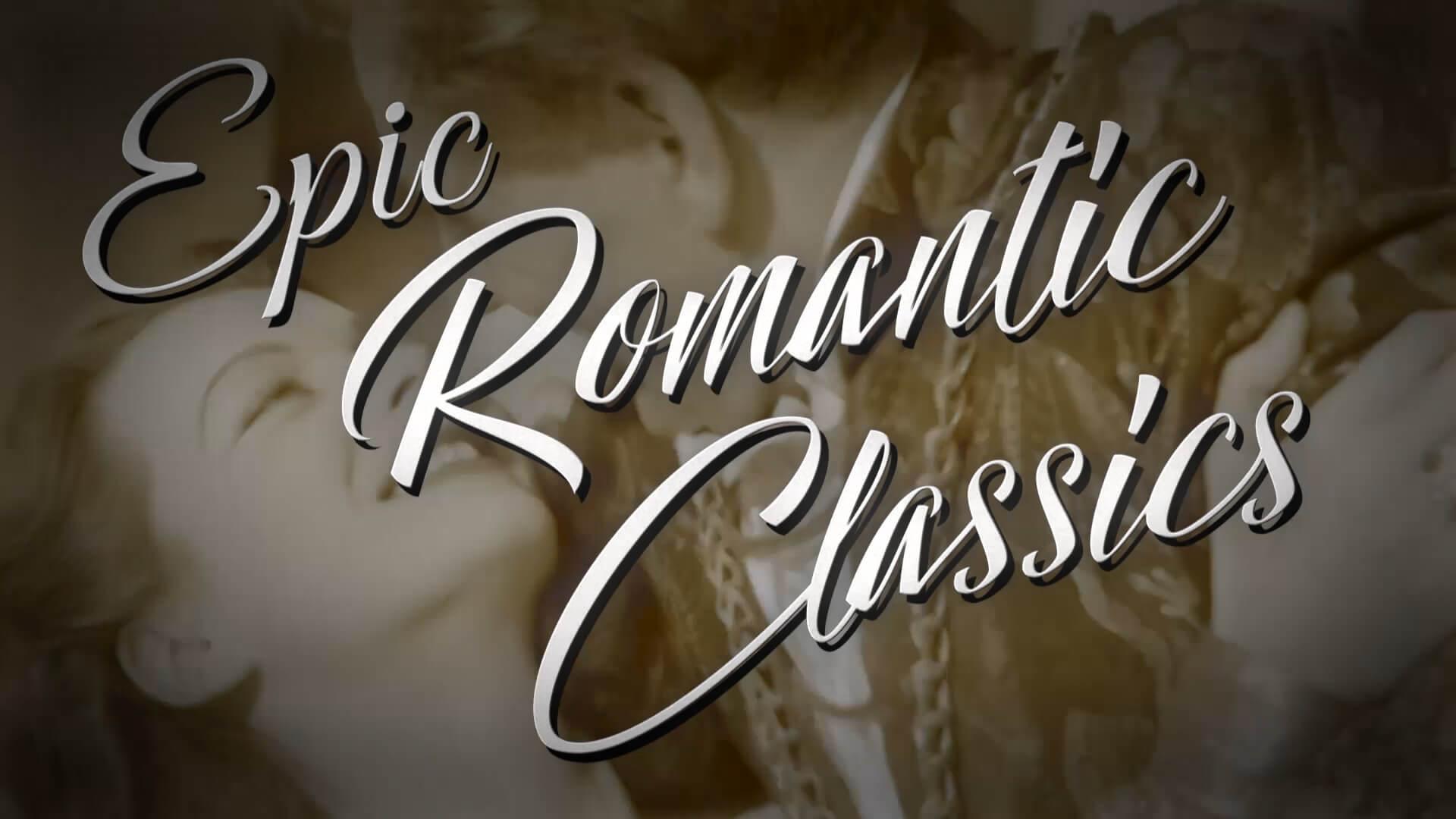 Vintage Classic Romance Movie Title