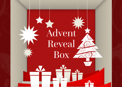 Festive 3D Advent Calendar Box Reveal Title for Premiere THUMB