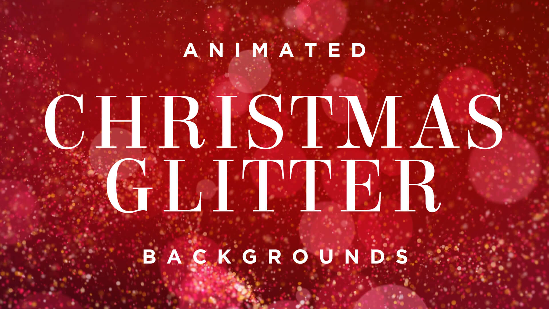 Christmas Red Glitter Background Pack Enchanted Media